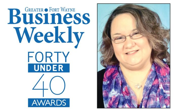 Greater Fort Wayne Business Weekly Forty Under 40 Awards, Teri Wilder