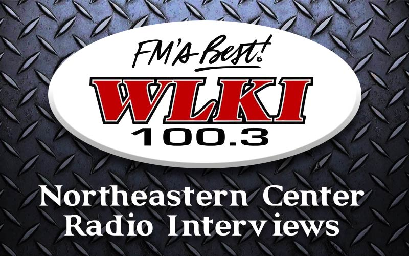 Northeastern Center radio interviews on WLKI 100.3 in Angola, Indiana